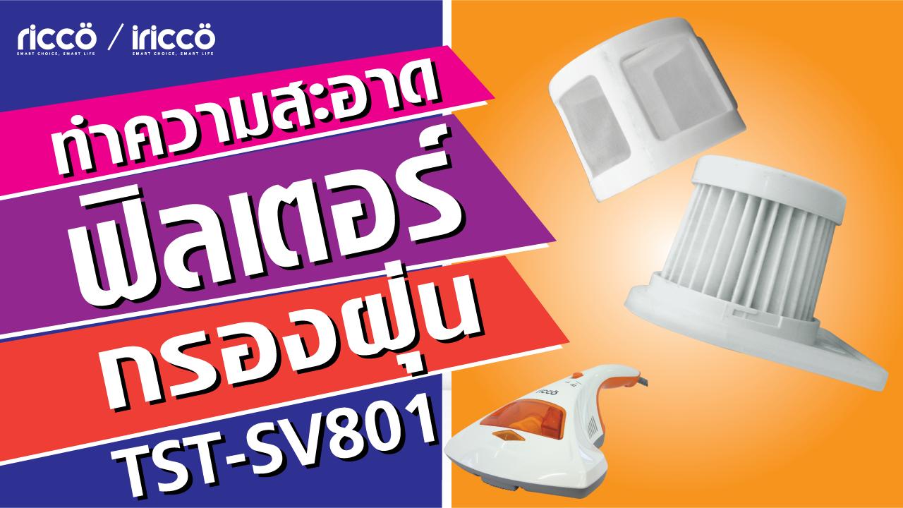You are currently viewing วิธีทำความสะอาดแผ่นฟิลเตอร์กรองฝุ่น (HEPA) TST-SV801