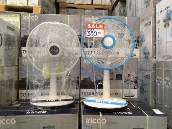 [สินค้าตัวโชว์] iricco พัดลมตั้งพื้นหน้ากว้าง 16″ รุ่น TST-BR-03 ประกัน 90 วัน