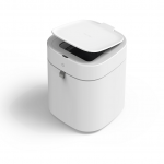 Townew Smart Trash Can T-Air X White ถังขยะอัจฉริยะใช้เทคโนโลยีการซีลและเปลี่ยนถุงขยะอัตโนมัติ