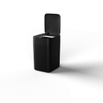 Townew Smart Trash Can T1S Black ถังขยะอัจฉริยะใช้เทคโนโลยีการซีลและเปลี่ยนถุงขยะอัตโนมัติ