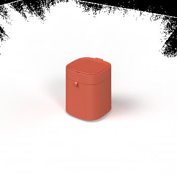 Townew Smart Trash Can T-Air X Orange ถังขยะอัจฉริยะใช้เทคโนโลยีการซีลและเปลี่ยนถุงขยะอัตโนมัติ